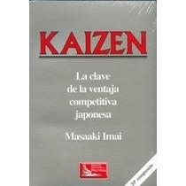 Libro: Kaizen: La Clave De La Ventaja Competitiva J. - Pdf