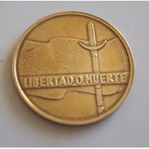Moneda Uruguay 5 Nuevos Pesos Conmemorativa Sesquicentenario