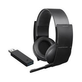 Headset Pulse 7.1 Stereo Wireless Sony Ps3 Pc Usb Novo!!!