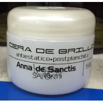 Anna De Sanctis Salon Cera De Brillo Antiestatico X 50g
