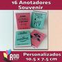 16 Souvenir Libreta Personalizada Elegí Tu Diseño!