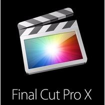 Final Cut Pro X Para Mac El Capitan El Mejor