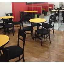 Mesas,sillas, Boots Y Todo Para Restaurante Bar