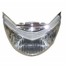 Bloco Do Farol C125 Biz 2006/10 Com Lente Cristal Plasmoto