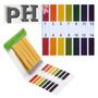 Medidor Ph 80 Fitas Papel Testar Líquidos Aquário Piscina