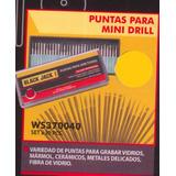 Accesorios Mini Drill 30 Puntas Grabado De Vidrio /marmol