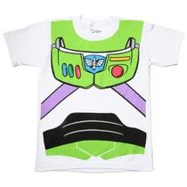 Shirt T-toy Story Buzz Lightyear Astronauta Traje Camiseta B