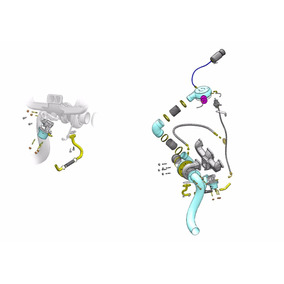 Kit Turbo Opala 4cc 4cil 2.5 S/ Turbina