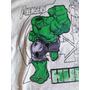 Remeras S Héroes: Ironman - Hulk - C. América - Batman-araña
