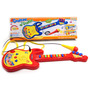 Guitarra Con Luz, Sonido Y Microfono Infantil Faydi