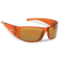 Flying Fisherman Magnum Polarized Sunglasses (crystal Rust F