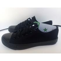 Zapatos Converse Negro Todo Unisex
