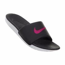 Chinelo Sandália Nike Kawa Slide Feminino Original + Nota F