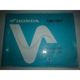 Catalogo Peças Moto Honda Cbx 750f Original Manual 750 Four