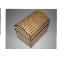 Caja Cofre Madera Fibrofacil X 50 Unidades