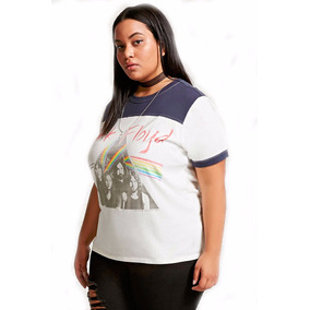 Diivina Remera Forever 21 Plus Size Pink Floyd