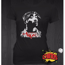 Playeras De Raperos, Cholos, Tu Pac, Skool 77, Baston, Akil