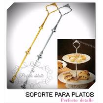 Soporte Para Stand De Platos De Cupcake Sin Platos Ni Disco