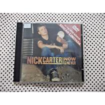 Cd + Dvd Nick Carter Now Or Never