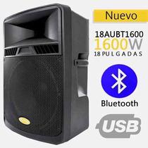 Corneta Amplificada Sps Audio 18aubt 1600 W Bluetooth Dsp