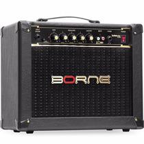 Cubo Amplificador Borne Para Guitarra Vorax 1050 50w - Preto