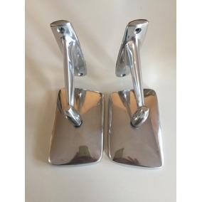 Par Retrovisor Do Corcel1,maverick,landau Em Aluminio Polido