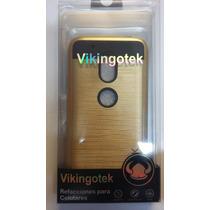 Protector Motorola G4 Play Dorado Metálico Olé Vikingotek