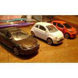 Lote De 3 Majorette Fiat 500 Citröen C5 Peugeot