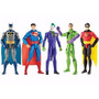 Bonecos Batman Preto, Batman Azul/cinza E Coringa Mattel
