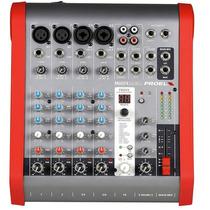 Mezcladora Proel Compacta 6 Ch 2 Bus M602fx Confirmar Existe