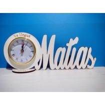 55 Souvenirs Reloj Con Nombre Pers 15 Años Con 8 Letras