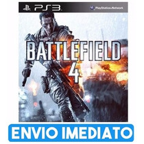 Battlefield 4 Ps3 Cod Psn Envio Na Hora