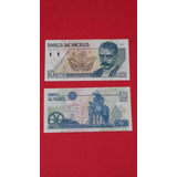 Billete Antiguo 10 Pesos Emiliano Zapata