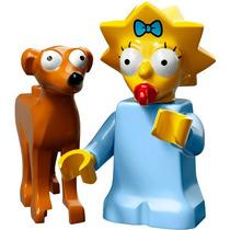 Lego Simpsons Series 2 Maggie Y Ayudante De Santa Nuevo!!!