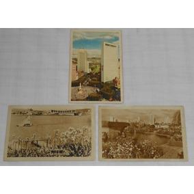 Cartão Postal Lote C/3 Belo Horizonte Minas Gerais Anos50
