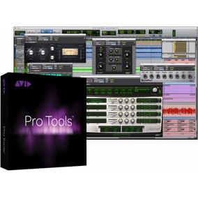 Avid Pro Tools 12.7 Software Con Plan De Actualizaciones