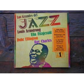 Los Grandes Del Jazz Nª 1 Louis Amrstrong Lp Vinilo Arg