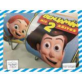 Alcancía Lata Giratoria Souvenir Personaliza Toy Story Woody