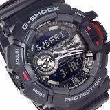Relógio Casio G-shock Modelo Ga-400-1bdr - 1 Ano Garantia