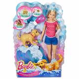 Barbie Splish Splash Pup Baño De Mascota Con Accesorios