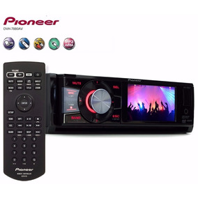 Dvd Pioneer Tela 3 Dvh 7880 Radio Am Fm Cd Mp3 Usb Saida Rca