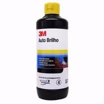 Cera Auto Brilho Polidor Lustrador Cristalizador 500ml - 3m