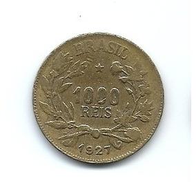 Moeda 1000 Reis 1927 Lote 270 1b