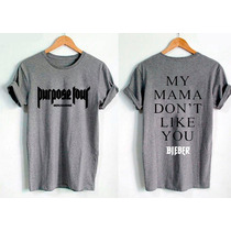 Playera Justin Bieber Purpose Tour