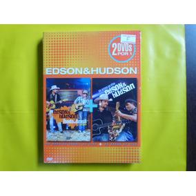 Dvd Edson & Hudson Duplo / Novo
