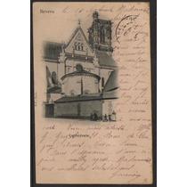 Col 07815 França Cartão Postal Circulado P/ Rj Selo 83 1903