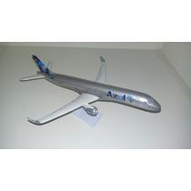 Maquete Em Resina Avião Erj-190 Azul Espírito De União