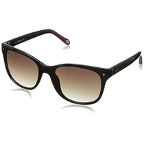 Gafas De Sol Fossil Fos3006s Lente Negro Degradado Marco Ne