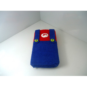 Bolsa P. 3ds/dsi Personalizada(mario Bros) Croche_frete9,90