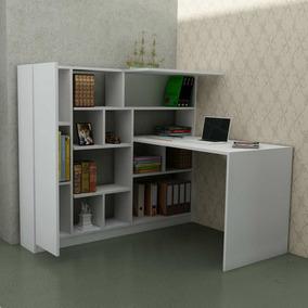 escritorio biblioteca estudio living espacio guardado